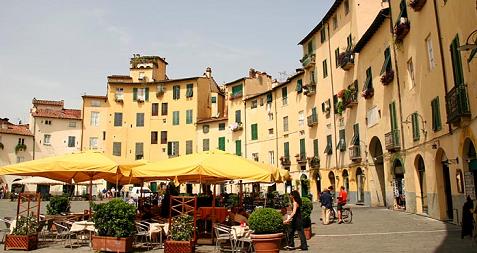 Lucques Italie