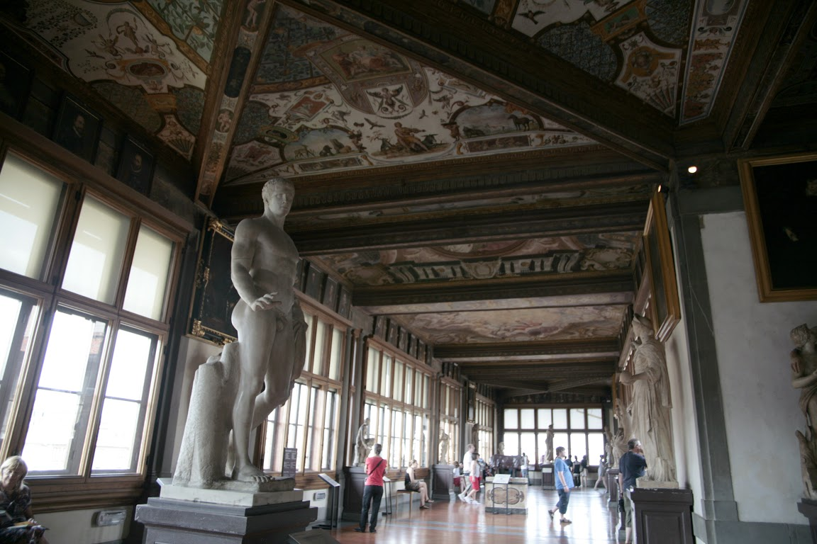 Galerie des offices florence italie - Musee des offices florence visite virtuelle ...