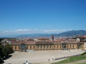 Palazzo Pitti vue des jardins Boboli