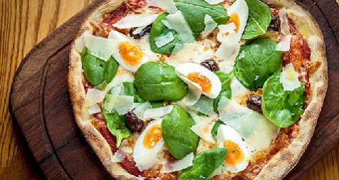 Pizza alla Fiorentina