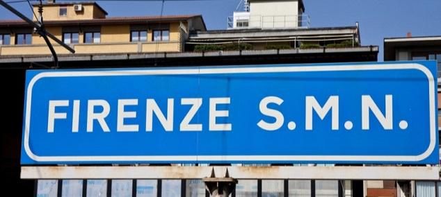 Gare de Florence Santa Maria Novella