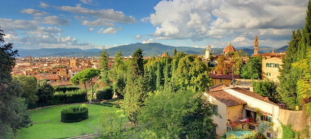 Les parcs de Florence