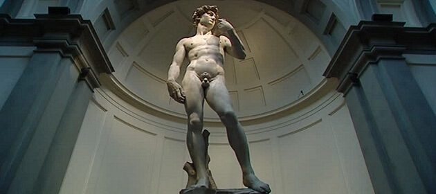 Le David de Michelangelo