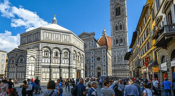 Touristes Florence