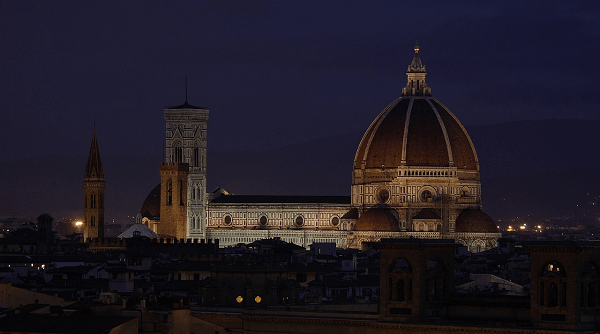 Duomo by night Florence