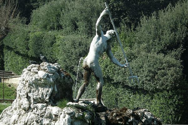 Statue Jardin Boboli Florence