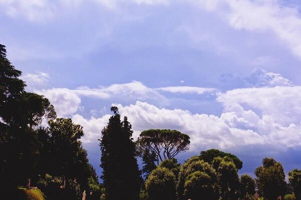 Vue des Jardins Boboli