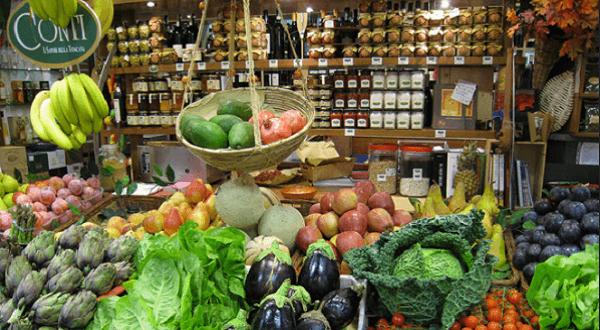 Marché florence legumes
