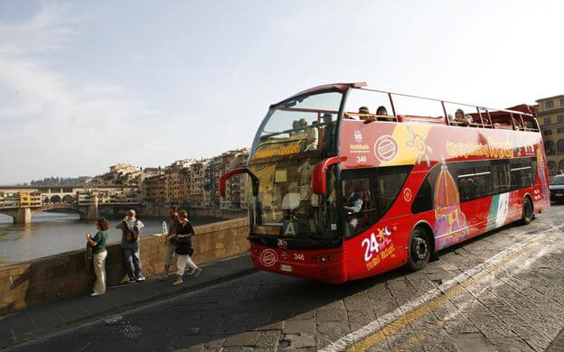 Les bus Hop-On Hop-Off pour visiter Florence