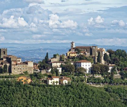 Vue de Toscane colline