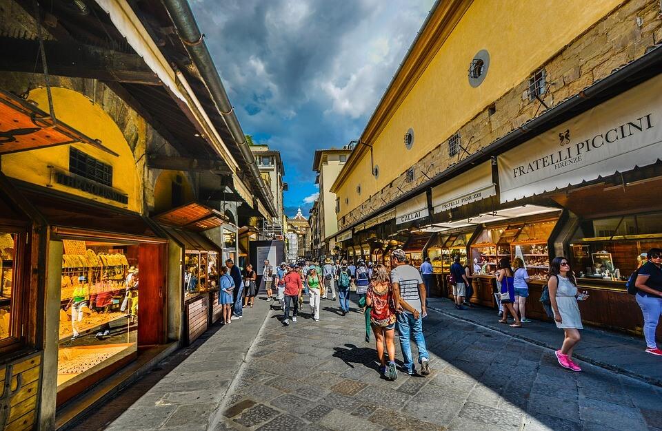 Consigne à bagages à Florence