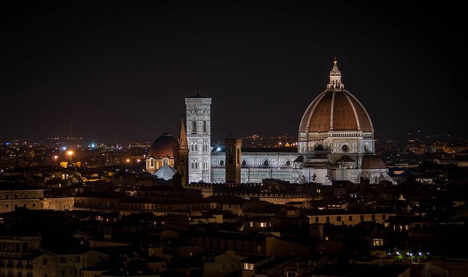 Florence Duomo de nuit